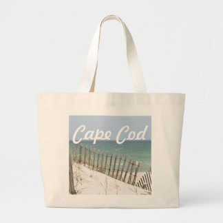 Cape Cod beach photo Large Tote Bag