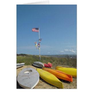 Cape Cod Boat Yard Wellfleet Card