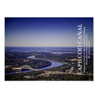 Cape Cod Canal - Bourne Sagamore Railroad Bridges Poster
