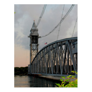 Cape Cod Canal Bridge Postcard