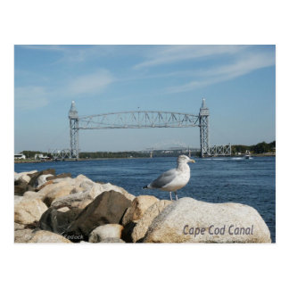 Cape Cod Canal Postcard