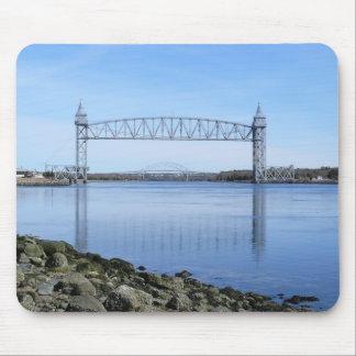 Cape Cod Canal Railroad Bridge Mousepad