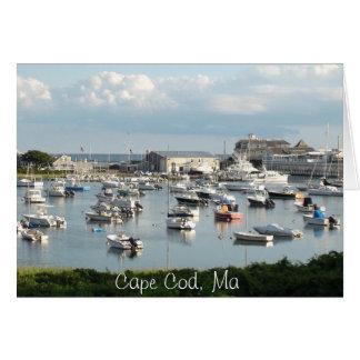 """Cape Cod Card, """"Wishing You Were Here"""" Greeting Card"""
