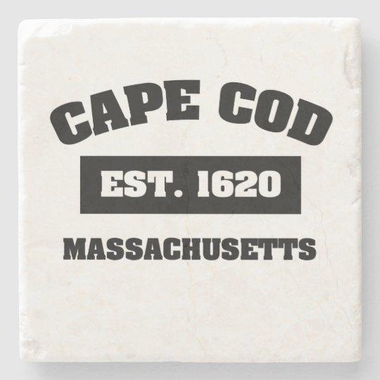 Cape Cod Est. 1620 Stone Coaster
