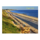 Cape Cod Great Hollow Corn Hill Bay Beach View Postcard