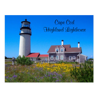 Cape Cod Highland Lighthouse  Postcard