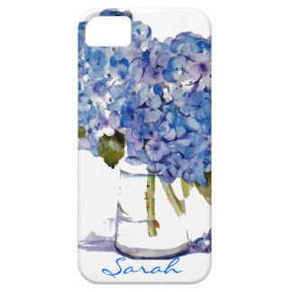 Cape Cod Hydrangeas iPhone 5 case Personalized