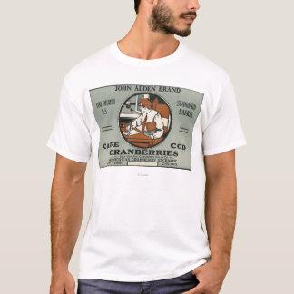 Cape Cod John Alden Brand Cranberry Label T-Shirt