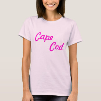 Cape Cod Ladies Baby Doll Fitted Tee Shirt