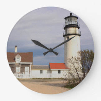 Cape Cod Light Large Clock