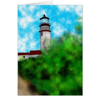 Cape Cod Lighthouse Card