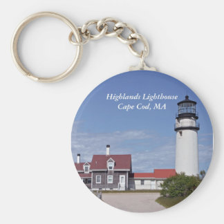 Cape Cod Lighthouse Keychain