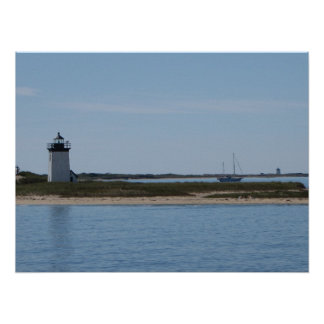 Cape Cod Lighthouses Poster