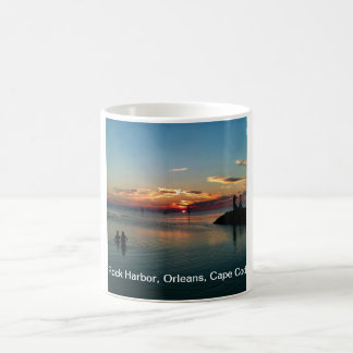 Cape Cod Living - Rock Harbor Sunset Coffee Mug