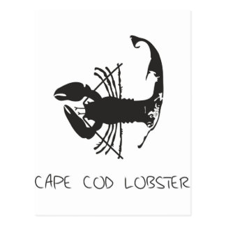 CAPE COD LOBSTER POSTCARD