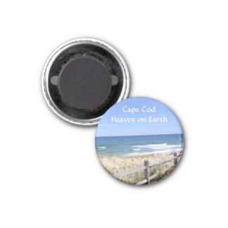 Cape Cod MA  Beach Heaven On Earth Fridge Magnet