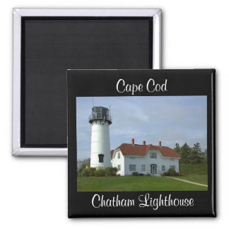 Cape Cod MA Chatham Lighthouse Fridge Magnet