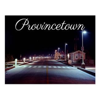 Cape Cod MacMillan Pier Provincetown MA Postcard