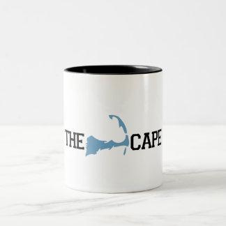 "Cape Cod ""Map"" Design. Two-Tone Coffee Mug"
