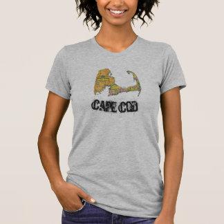 Cape Cod Map women's shirt