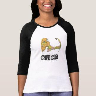 Cape Cod Map women's shirt 2