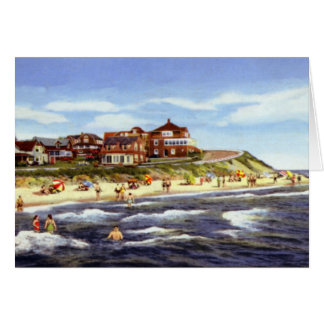Cape Cod Massachusetts Falmouth Heights and Beach Card