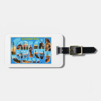 Cape Cod Massachusetts MA Vintage Travel Souvenir Luggage Tag