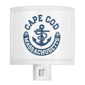 Cape Cod Massachusetts Night Lights