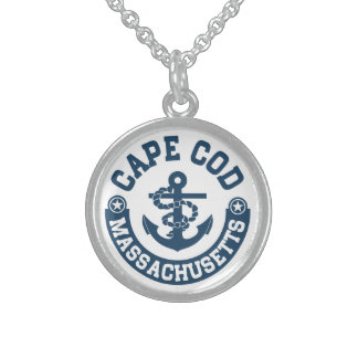 Cape Cod Massachusetts Sterling Silver Necklace