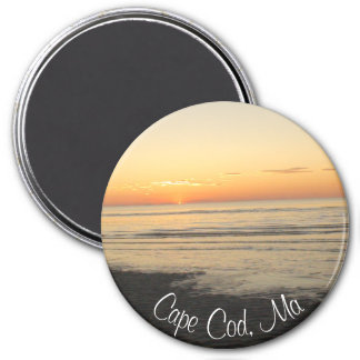 Cape Cod, Massachusetts Sunset souvenir Magnet