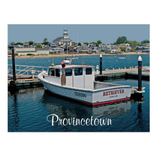 Cape Cod Provincetown Harbour, MA Post Card