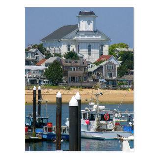 Cape Cod Provincetown Massachusetts Post Card