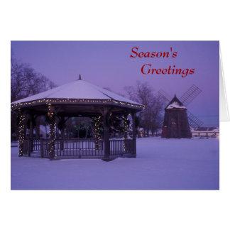 Cape Cod Season's Greetings Card