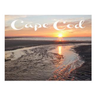 Cape Cod Sunrise, Provincetown, MA Post Card