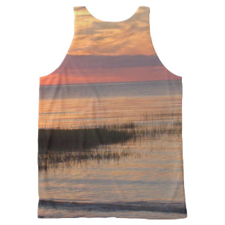Cape Cod Sunset All-Over Printed Tank Unisex