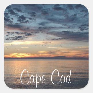 Cape Cod Sunset beach and ocean Photo Sticker