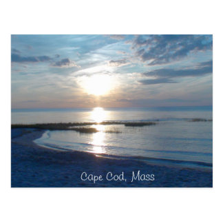 Cape Cod sunset Postcard