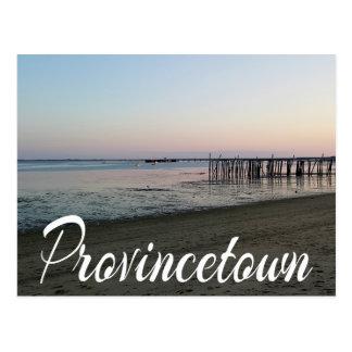 Cape Cod Sunset, Provincetown, Massachusetts MA Postcard