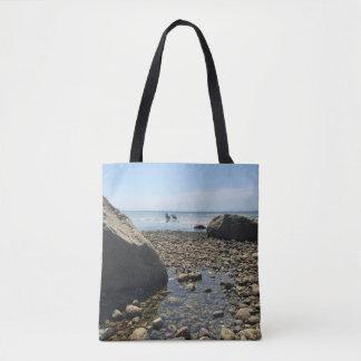 Cape Cod Tote Bag - Woodneck Beach