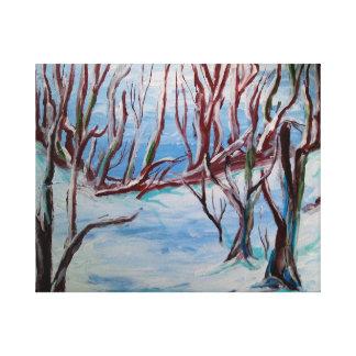 Cape Cod Winter Canvas Print
