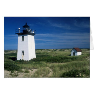 Cape Cod Wood End Lighthouse Card