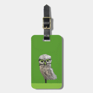 Cape Coral Burrowing Owl Luggage Tag