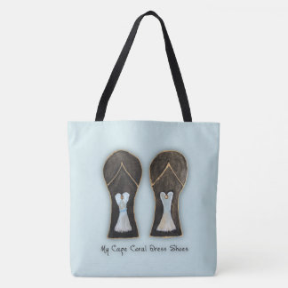 Cape Coral Florida Dress Shoes Tote Bag