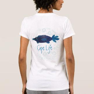 Cape Coral Florida Funny Fish Art Cape Life T-Shirt