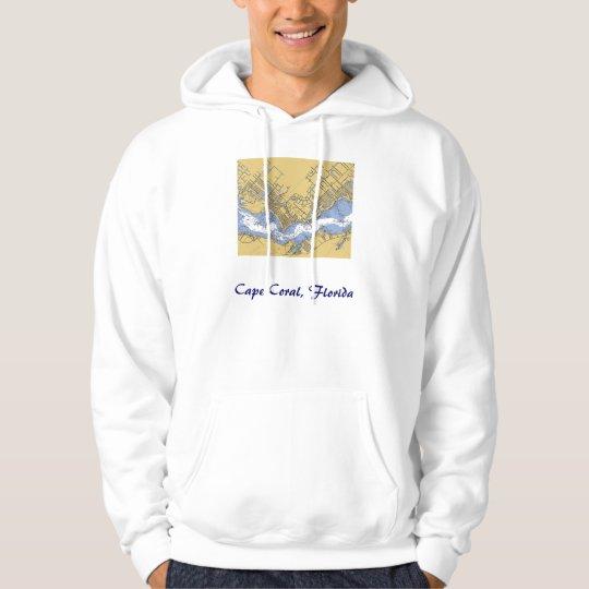 Cape Coral, Florida Nautical Harbour chart Shirt