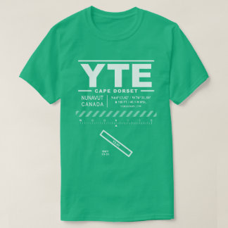 Cape Dorset Airport YTE T-Shirt
