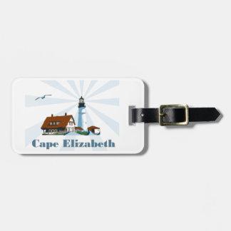 Cape Elizabeth. Bag Tag