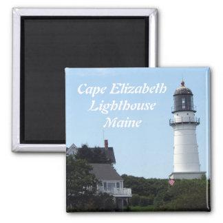 Cape Elizabeth Lighthouse Magnet