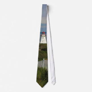 Cape Enrage Lighthouse Tie