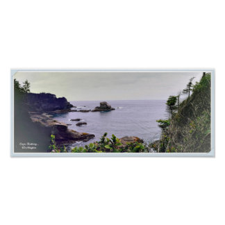 Cape Flattery Panoramic poster